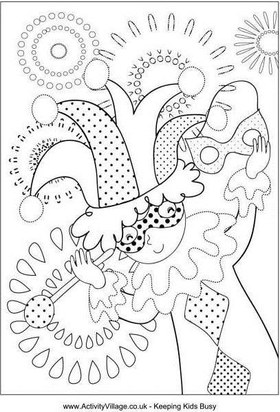sample coloring page mardi_gras_jester_colouring_page_460_0